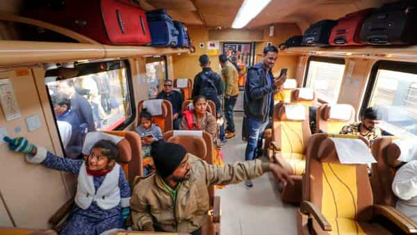 A Railway ticket checker collected ₹1.5 crore fine from train passengers