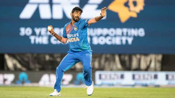 Jasprit Bumrah in action during the Twenty 20 cricket international between India and New Zealand in Auckland. Policies of rotation and rest have gone from debate to diktat in cricket, and format specialists have emerged (Photo: AP)