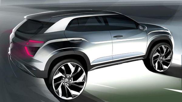 Hyundai Creta 2020 sketch (Twitter/HyundaiIndia)