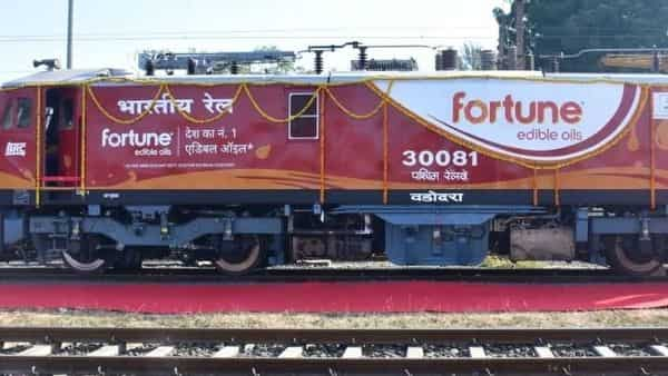 The branding of the locomotives will help the Western Railway zone generating additional revenue of  ₹1.05 crore.