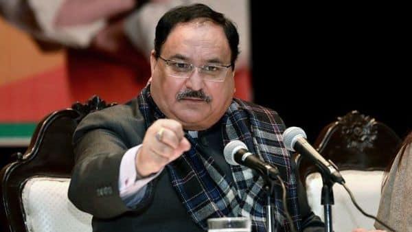 BJP President JP Nadda.