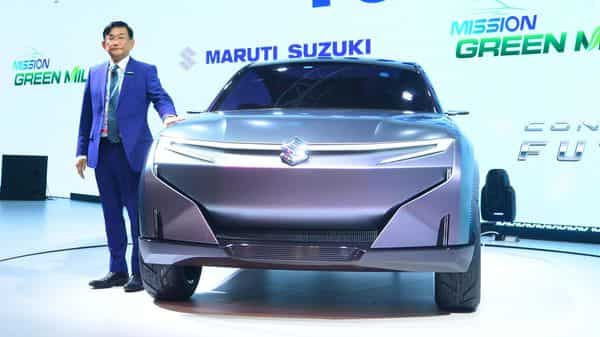 Ayukawa said Maruti's customers are not too keen on purchasing a product that is costlier than a petrol or diesel vehicle (Photo: Ramesh Pathania/Mint)