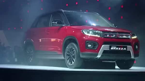 Auto Expo 2020 Maruti Launches Vitara Brezza In Petrol And Mild