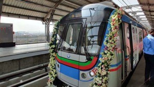 Hyderabad Metro Rail, the world's largest public-private partnership project.