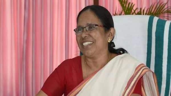 Kerala health minister K.K. Shailaja.