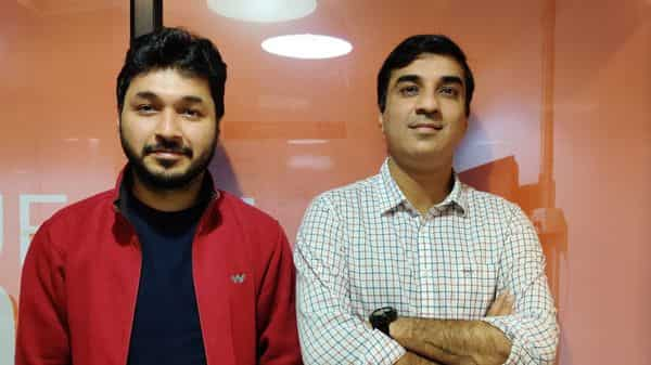 Arpit (L) and Jayesh Rajpurohit, co-founders, Brick&Bolt