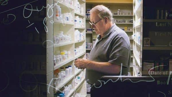 Netflix's crime series The Pharmacist.