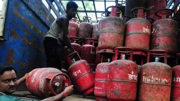 LPG cylinder prices were hiked by around  ₹145 today (Mint)