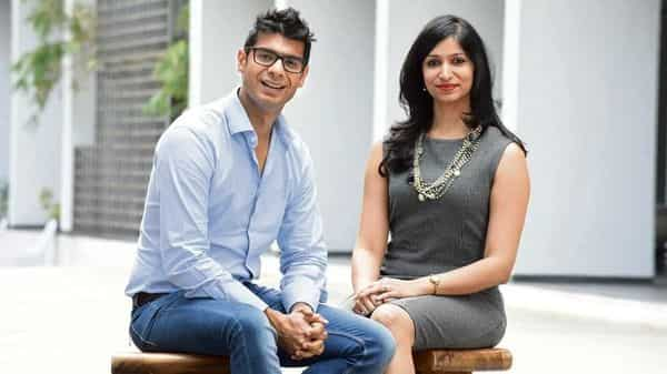Shezan Bhojani and Gita Ramanan have clearly demarcated roles at the startup they have co-founded, Design Cafe.