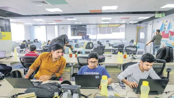 For startups, cutting through the noise at international networking and industry events to get noticed as well as to sharpen their pitch is a challenge. (Photo: Bloomberg)