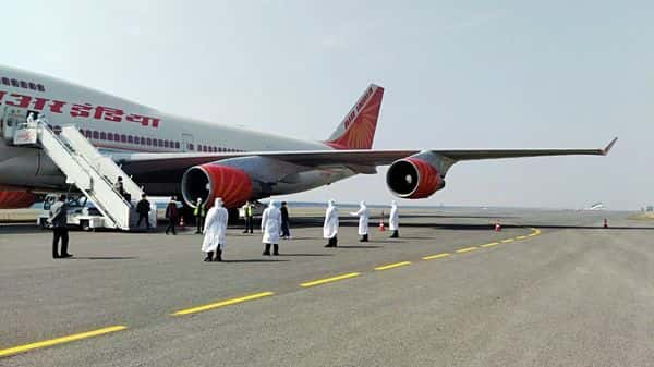 Wuhan airport reminds Air India rescue crew of a Zombie apocalypse
