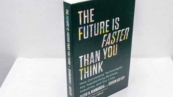 A book 'The Future Is Faster Than You Think: How Converging Technologies Are Transforming Business, Industries, and Our Lives'.
