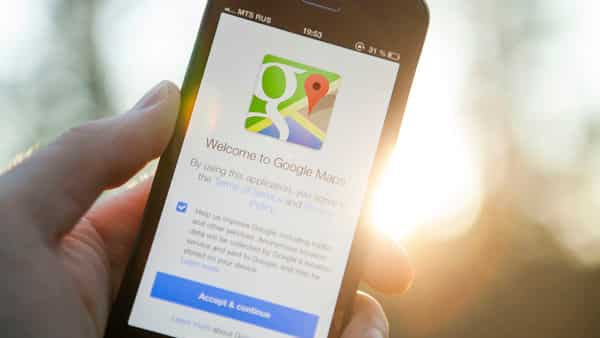 Google Maps is a web mapping service application