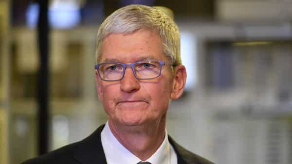 A file photo of Apple CEO Tim Cook. (AFP)