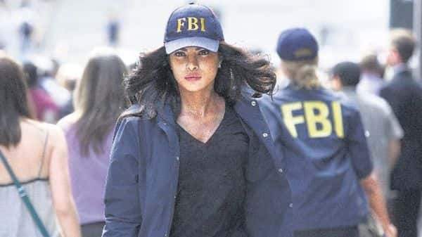 Priyanka Chopra Jonas in a still from 'Quantico'. She is the first south Asian to headline an American network drama series.