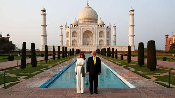 Donald Trump Visits Taj Mahal Says America Loves India