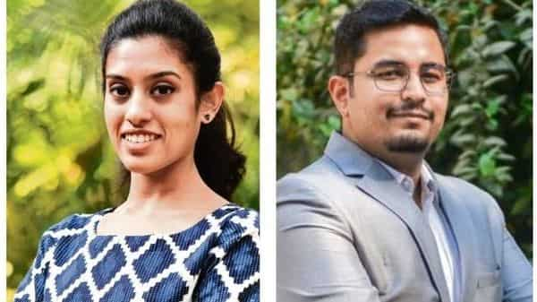 Bengaluru-based Vaishnavi Chadagar (left) ends up spending money on outings with friends and falls back on her family at the end of the month; Mumbai-based Jai Sharma is unable to streamline his expenses due to the lack of a budget and ends up using his credit card almost every month.