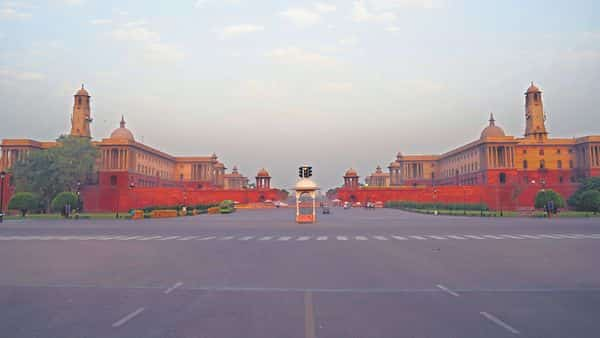 The Rashtrapati Bhavan at the western end of Rajpath, which the government is seeking to remodel.  (Photo: Alamy)