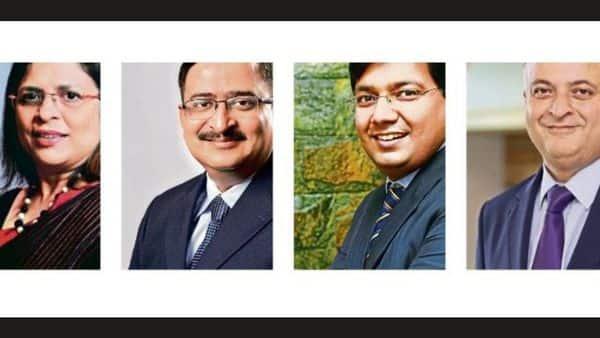 from left) Vibha Padalkar of HDFC Life Insurance, Shreeraj Deshpande of Future Generali India Insurance, Abhishek Bondia of SecureNow.in and Aalok Bhanof  Max Life Insurance
