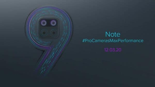 Xiaomi is expected to launch the Redmi Note 9 and Redmi Note 9 Pro at the online-only event