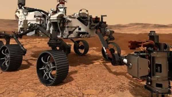 The rover is undergoing final preparations at NASA's Kennedy Space Center.