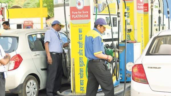 Petrol price has fallen below the  ₹71 mark in Delhi and  ₹76 mark in Mumbai.