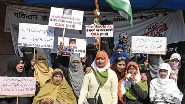 There have been widespread protests against CAA.  (Photo: HT)