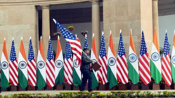 The helpline was launched to help people facing issues such as expiring American visas, denials of H-1B visas. (ANI Photo / R Raveendran)