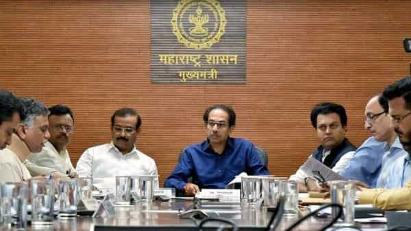 Maharashtra CM Uddhav Thackeray chaired a meeting with all-district collectors through video conferencing over coronavirus, in Mumbai (File photo: ANI)