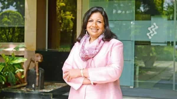 Kiran Mazumdar-Shaw is member of a working group communicating with the Centre on the crisis (Photo: Mint)