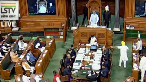 A file photo of Lok Sabha. (LSTV TV Grab)