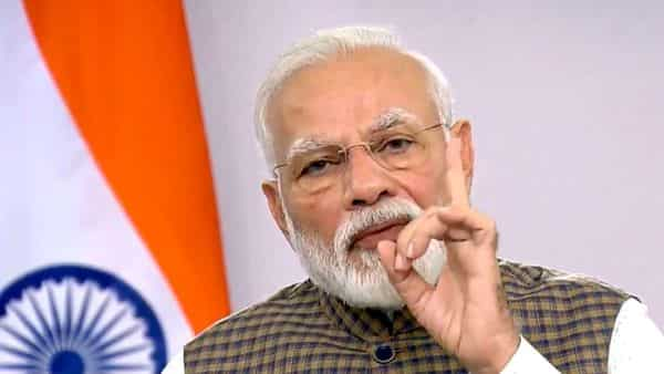 Prime Minister Narendra Modi addresses the nation on COVID-19, in New Delhi on Tuesday (Photo: ANI)