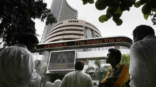 A photo of Bombay Stock Exchange (BSE).