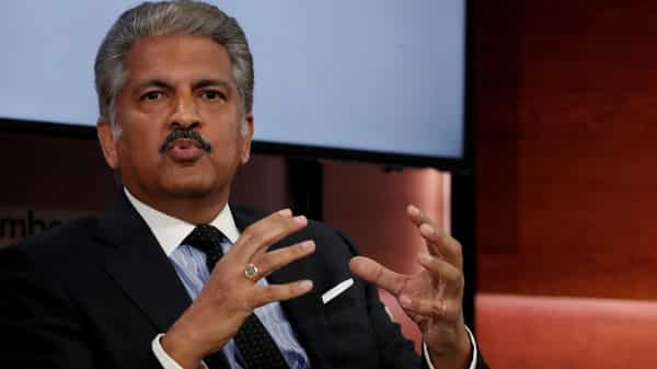 Anand Mahindra, chairman and managing director of Mahindra Group, (Photo: Reuters)