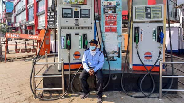Petrol and diesel prices are dependent on crude oil prices. (PTI)