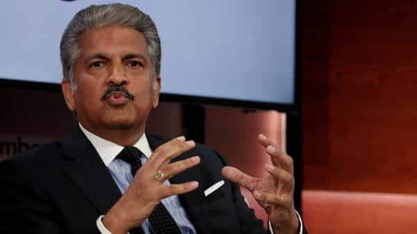 A file photo of Anand Mahindra. (REUTERS)