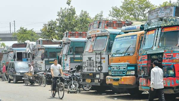 Movement of goods remains restricted because of the lockdown. (Photo: PTI)