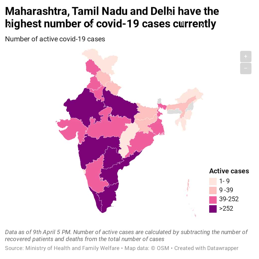 Mint Covid Tracker Maharashtra Tamil Nadu Rajasthan See The Highest Spike In Cases This Week