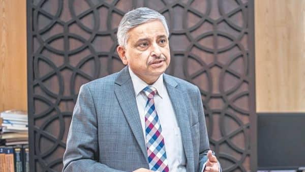 A file photo of AIIMS director Dr Randeep Guleria (Photo: Pradeep Gaur/Mint)