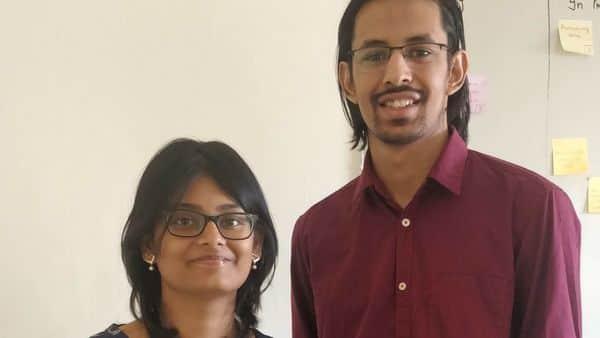 Locale.ai founders Rishabh Jain and Aditi Sinha