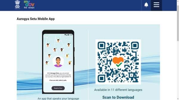 Aarogya Setu application