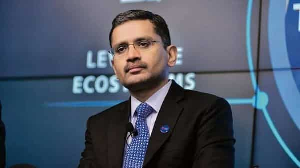 TCS MD and CEO Rajesh Gopinathan. (Aniruddha Chowdhury/Mint)