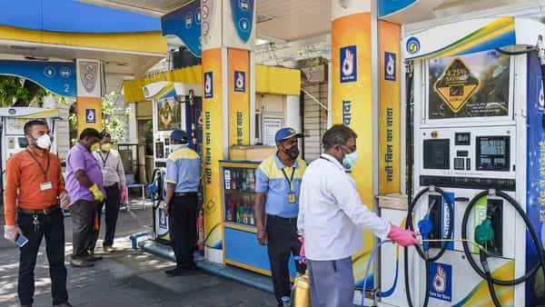 Consumption for diesel and petrol, which account for more than half of India's oil demand, dropped by more than 60% in the first half of April (PTI)