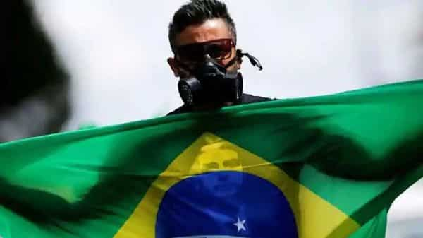 Brazil officially reported about 4,500 deaths and almost 67,000 confirmed infections.