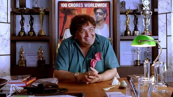 Rishi Kapoor played an outlandish film producer in Luck By Chance (2009)