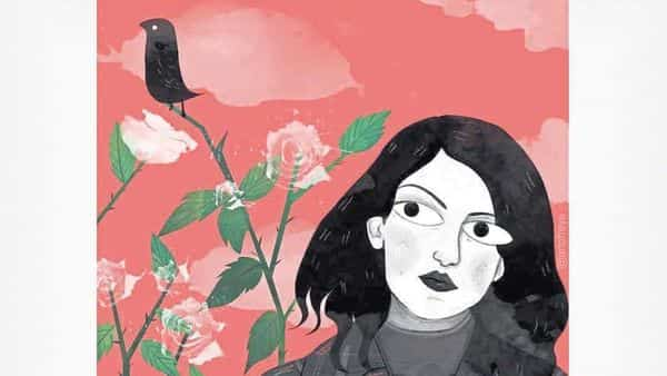 The 'Red' series by illustrator Reya Ahmed is aimed at expressing a female narrative of melancholy, defiance, indifference and quiet appreciation of nature and solitude. instagram @artofreya