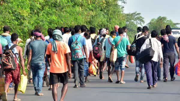 Migrants have faced enormous hardships under India's lockdown (Kolkata)