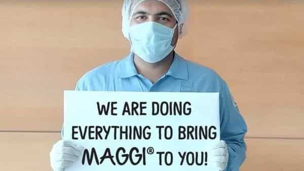 A still from the video uploaded on the Maggi Facebook page during the lockdown. Credit: MeriMaggiIndia/Facebook