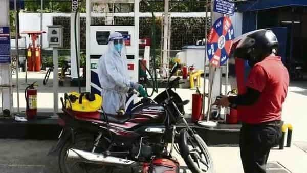 The base price of petrol as of 1 March was  ₹32.61 a litre