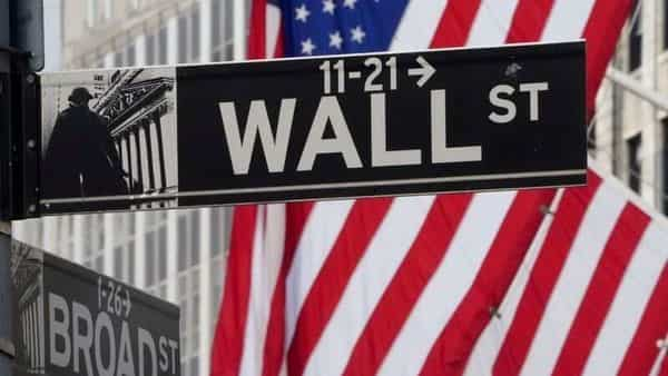 The Wall Street sign is pictured at the New York Stock exchange (NYSE) in the Manhattan borough of New York City. (REUTERS)